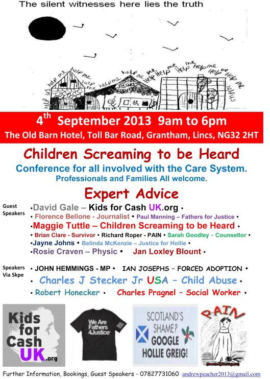 Children Screaming to be Heard - Flyer Ver 9