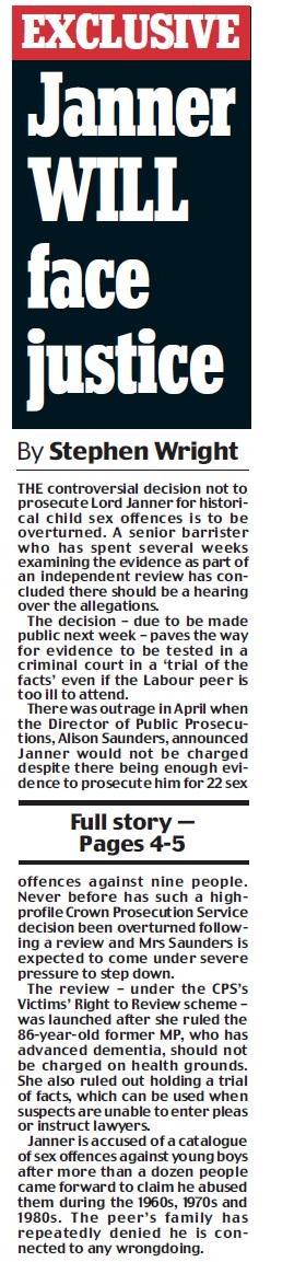 Janner Justice