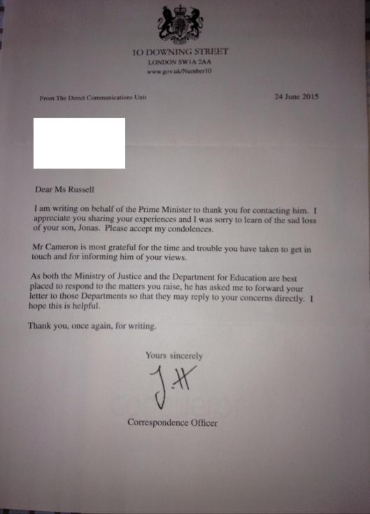 Stadden Letter