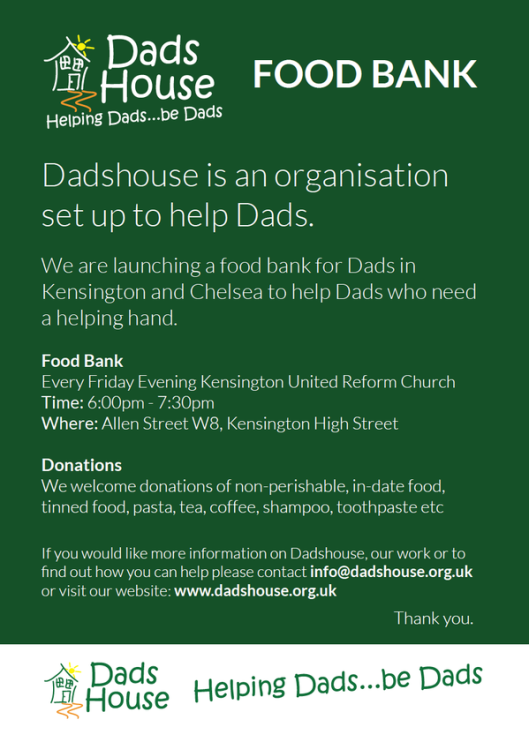 DadsHouse Food Bank