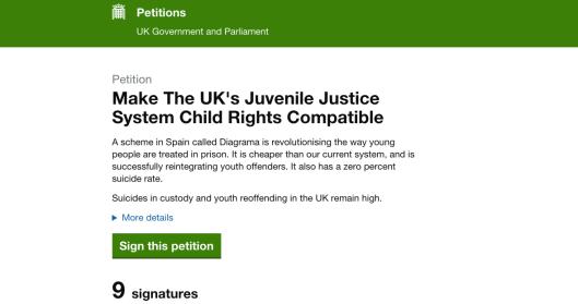 Petition Prison