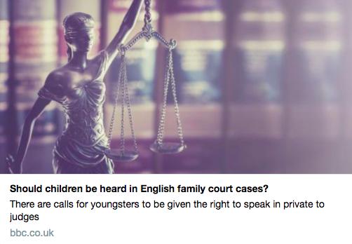 Court cases children