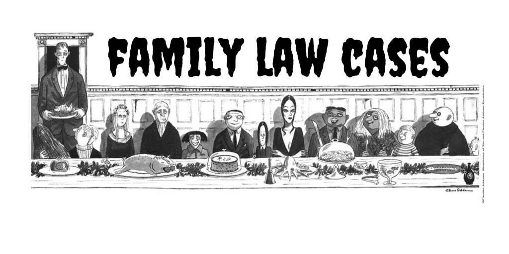 Family Law Cases RR