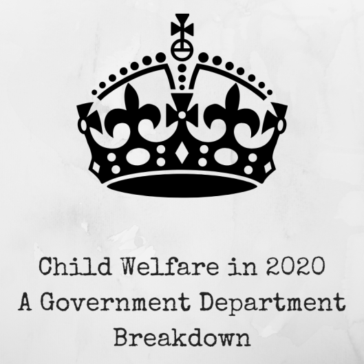 Child Welfare in 2020 A Government Department Breakdown